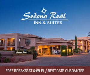Sedona Real Inn and Suites : Enjoy superior service, a free hot breakfast and WiFi when staying with us! Featuring 98 spacious rooms & Suites, pet & family park and on-site concierge service. The best value for groups of all ages who love recreating in Northern Arizona.