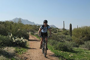 Rim Mountain Bike Tours : Winter mountain biking tours! Arizona's Sonoran Desert is the perfect place & ride with the best outfitter providing multi-day, camping based winter cycling tours in the sun!