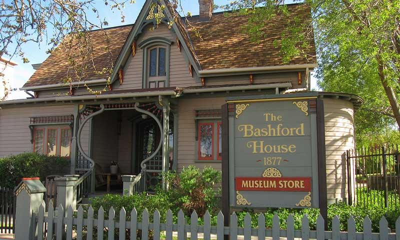 Bashford House at the Sharlot Hall Museum in Prescott Arizona
