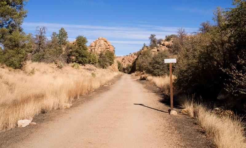 Prescott Tourism Peavine Trail