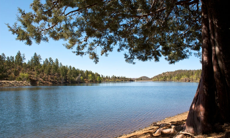 Lynx Lake in Prescott Arizona