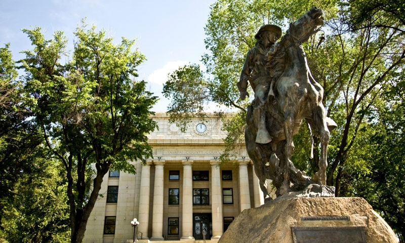 Yavapai County Courthouse in Prescott