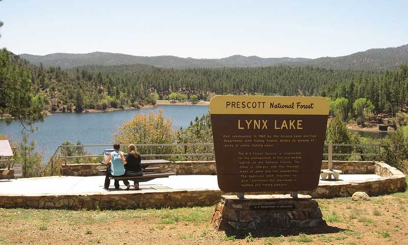 Lynx Lake in Prescott Arizona