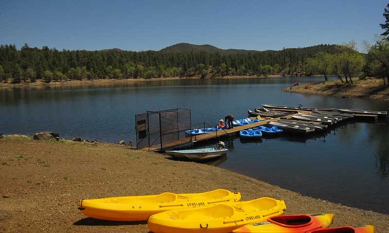 Boat Rentals at Lynx Lake in Prescott