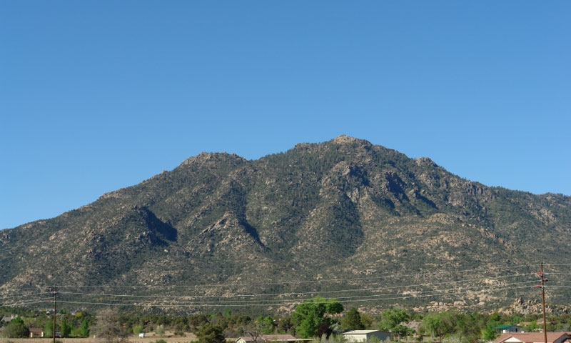 Granite Mountain in Prescott Arizona