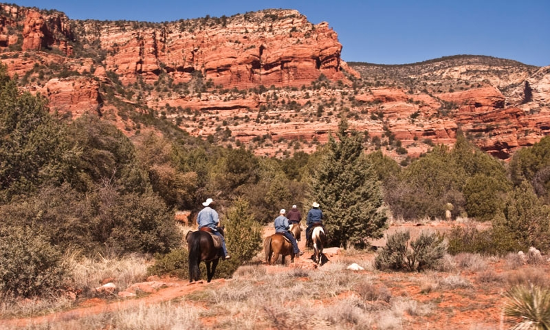 Horseback Riding in Red Rock State Park