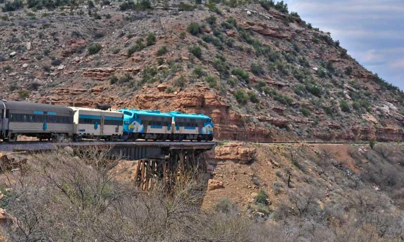 The Verde Canyon Train in Arizona