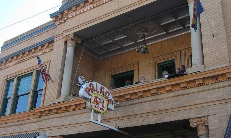 The Palace Saloon in downtown Prescott Arizona