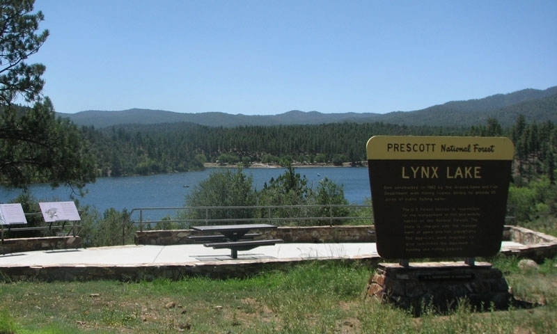 Lynx lake arizona fishing camping boating alltrips for Fishing lakes in arizona