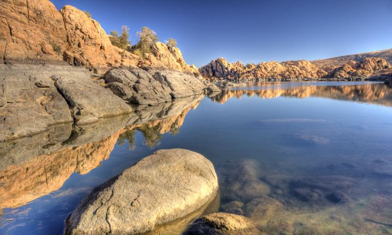Willow lake arizona fishing camping boating alltrips for Fishing lakes in arizona