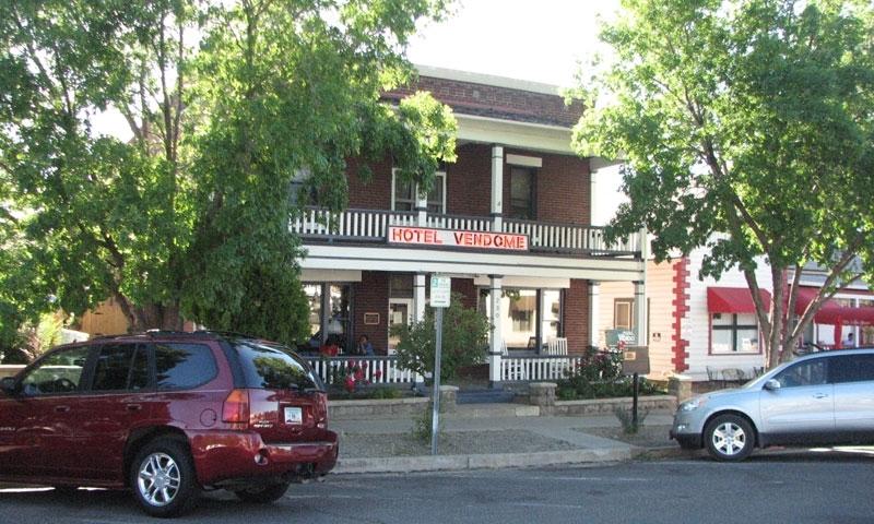 Hotel Vendome Prescott Arizona Haunted House